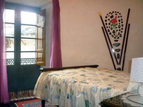 habitacion-matrimonio-2-santa-rosa-pension-samos